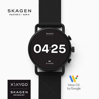 REFURBISHED Smartwatch HR - Falster 3 X by KYGO Black Silicone
