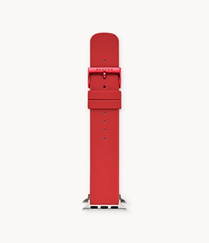 Red Silicone Bands for Apple Watches 38mm and 40mm