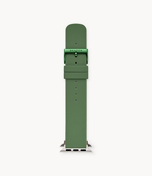 Green Silicone Bands for Apple Watches® 38mm and 40mm