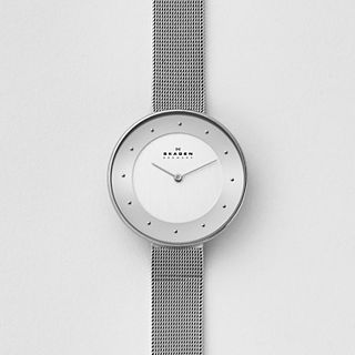 Gitte Steel-Mesh Watch