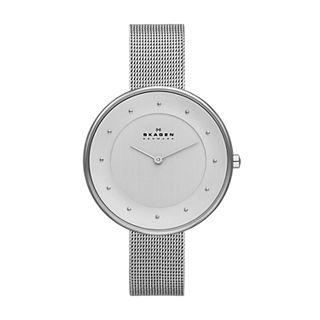 Gitte Steel-Mesh Watch
