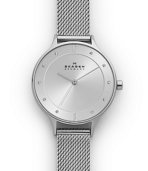 Anita Steel-Mesh Watch