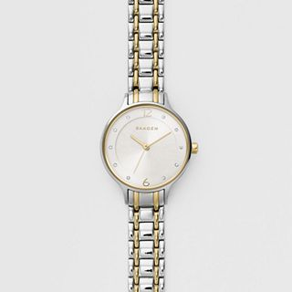 Anita Two-Tone Steel-Link Watch