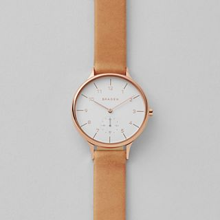 Anita Tan Leather Watch