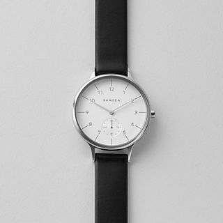 Anita Sub-Eye Leather Watch