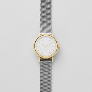 Hald Two-Tone Steel-Mesh Watch