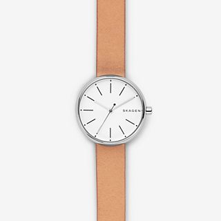Signatur Tan Leather Watch