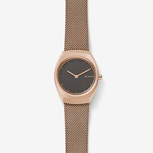 Asta Rose Gold-Tone Steel-Mesh Watch