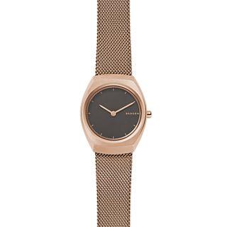 Asta Rose Gold-Tone Steel-Mesh Watch