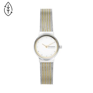 Freja Two-Tone Steel-Mesh Watch
