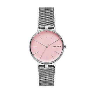 Signatur T-Bar Stainless Steel-Mesh Watch