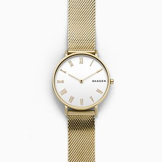 Hald Gold-Tone Silk-Mesh Watch