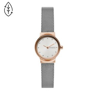 Freja Two-Tone Stainless Steel-Mesh Watch