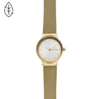 Freja Gold-Tone Stainless Steel-Mesh Watch