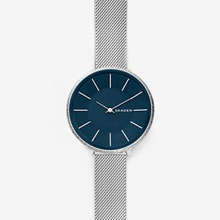 Karolina Silk-Mesh Watch