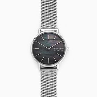 Signatur Slim Steel-Mesh Watch