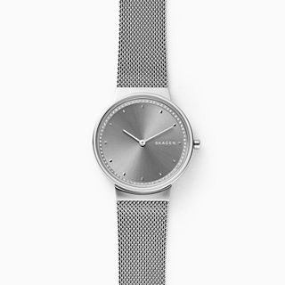 Annelie Steel-Mesh Watch