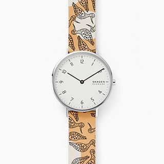 Aaren Two-Tone Leather Watch