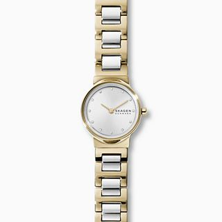 Freja Two-Tone Steel-Link Watch