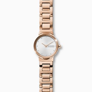 Freja Rose Gold-Tone Steel-Link Watch