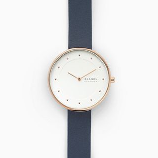 Gitte Blue Leather Watch
