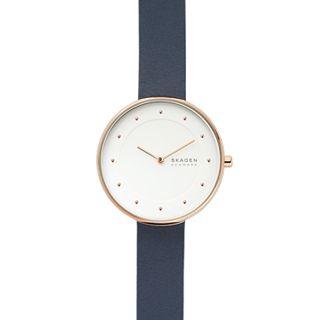 Gitte Blue Leather Watch