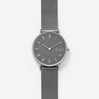 Hald Gunmetal Steel-Mesh Watch