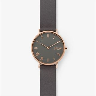 Hald Gray Leather Watch