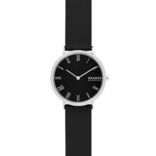 Hald Two-Hand Black Silicone Watch