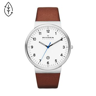 Ancher Brown Leather Watch