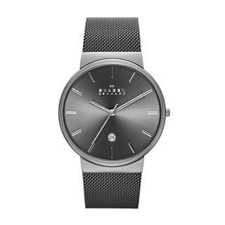 Ancher Gray Steel-Mesh Watch