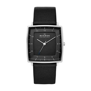 Strand Men's Leather Watch