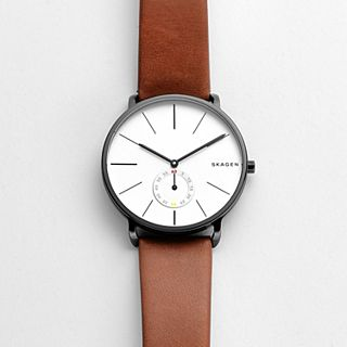 Hagen Brown Leather Watch