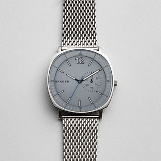 Rungsted Heavy Gauge Steel Mesh Watch