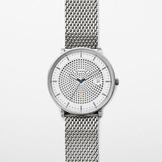 Hald Solar Steel Mesh Watch