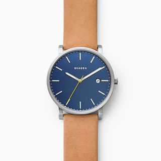 Hagen Tan Leather Watch
