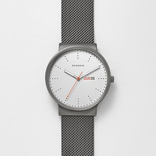 Ancher Titanium & Steel-Mesh Watch