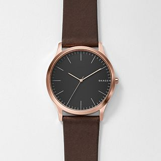 Jorn Dark Brown Leather Watch