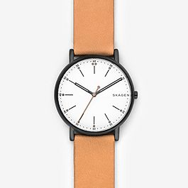 df724581ad2 Signatur Tan Leather Watch - Skagen