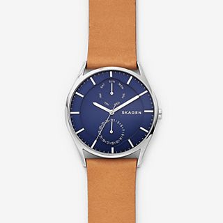 Holst Tan Leather Multifunction Watch