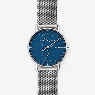Signatur One-Hand Steel-Mesh Watch