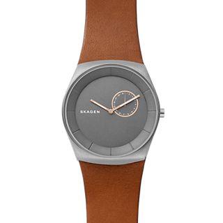 Havene Titanium and Leather Watch