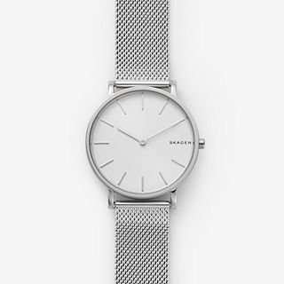 Hagen Slim Steel-Mesh Watch