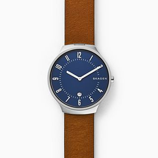 Grenen Brown Leather Watch