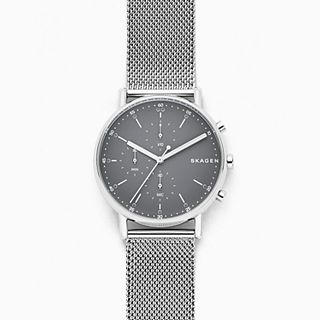Signatur Stainless Steel-Mesh Chronograph