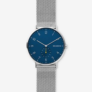 Aaren Steel-Mesh Watch