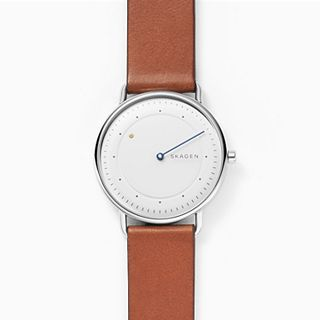 Horisont Special-Edition Brown Leather Watch