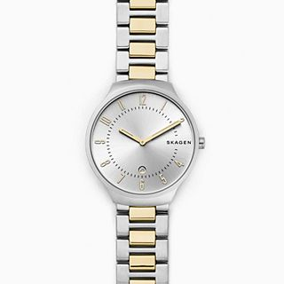 Grenen Two-Tone Steel-Link Watch