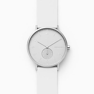 Aaren Kulor White Silicone 41mm Watch