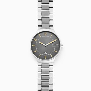 Grenen Slim Two-Tone Steel-Link Watch